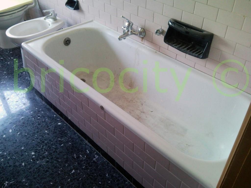 Vasca da bagno rovinata vascanova soluzioni per il - Stucco per vasca da bagno ...